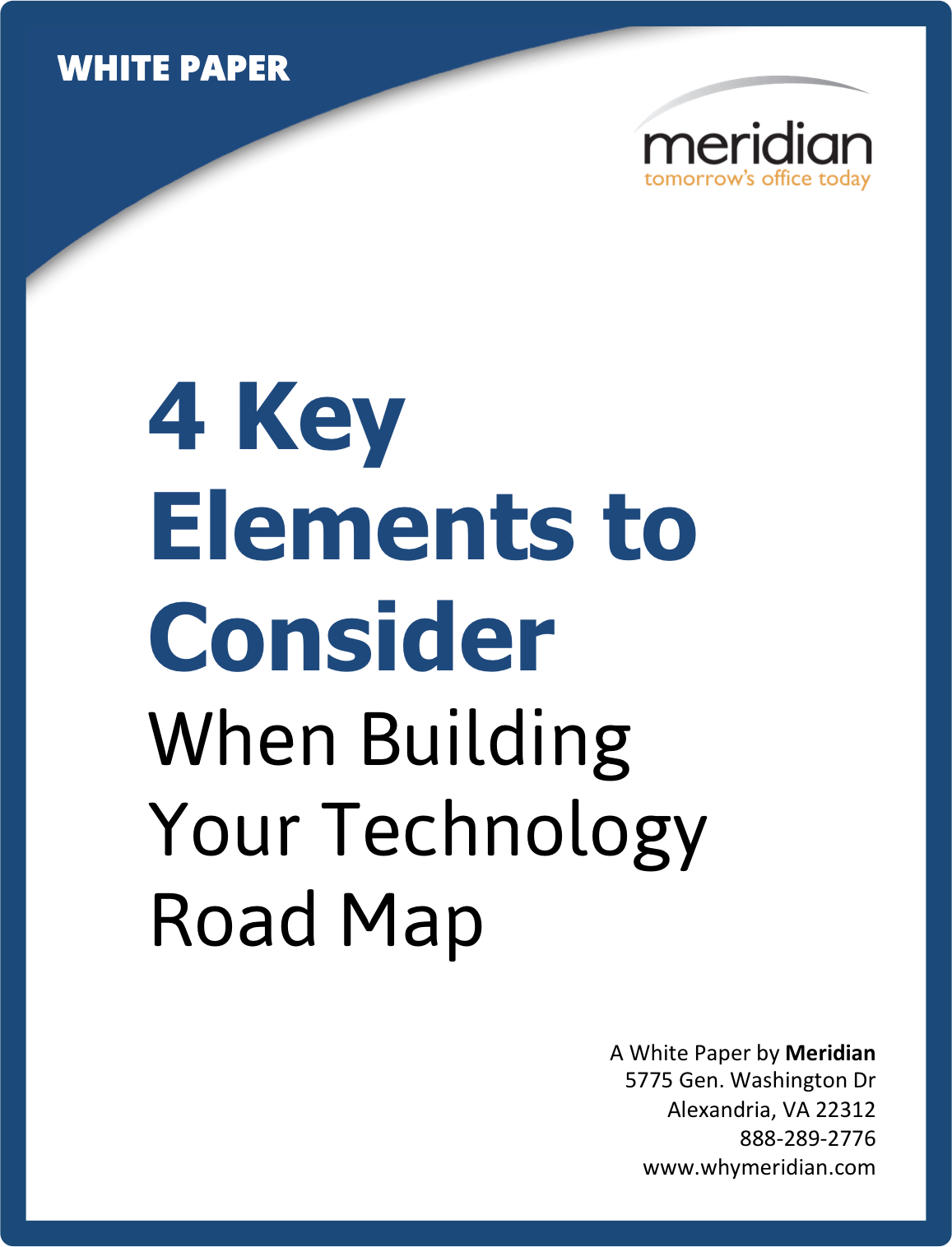 White Paper: Four Key Elements to Consider When Building Your ... on characteristics of a map, basic components of a map, parts of a map, mind tools mind map, key components of a map,