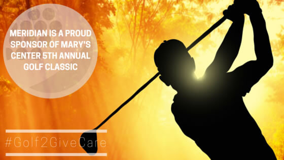 Meridian Sponsors Mary's Center 5th Annual Golf Classic #Golf2GiveCare