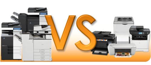 Multifunction printer (MFP) vs. Desktop Printer