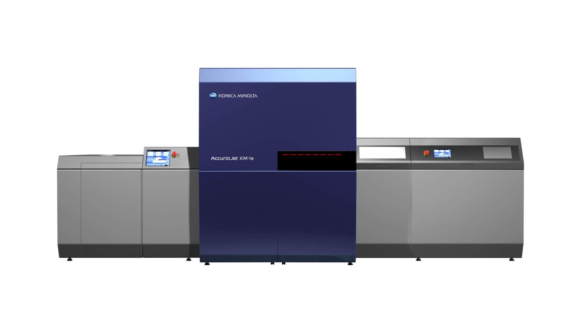 [News Release] Meridian Introduces AccurioJet KM-1e Digital Production Press