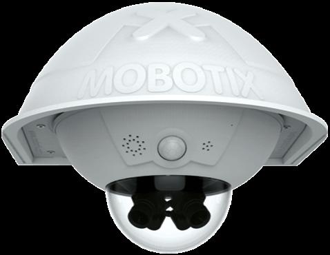 Konica  Minolta Mobotix D16 Dual Dome Camera-cropped
