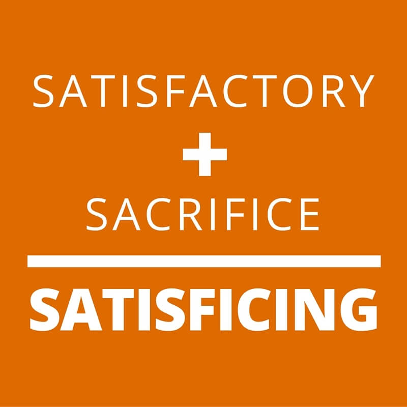 Business Continuity Planning: Don't settle for satisficing