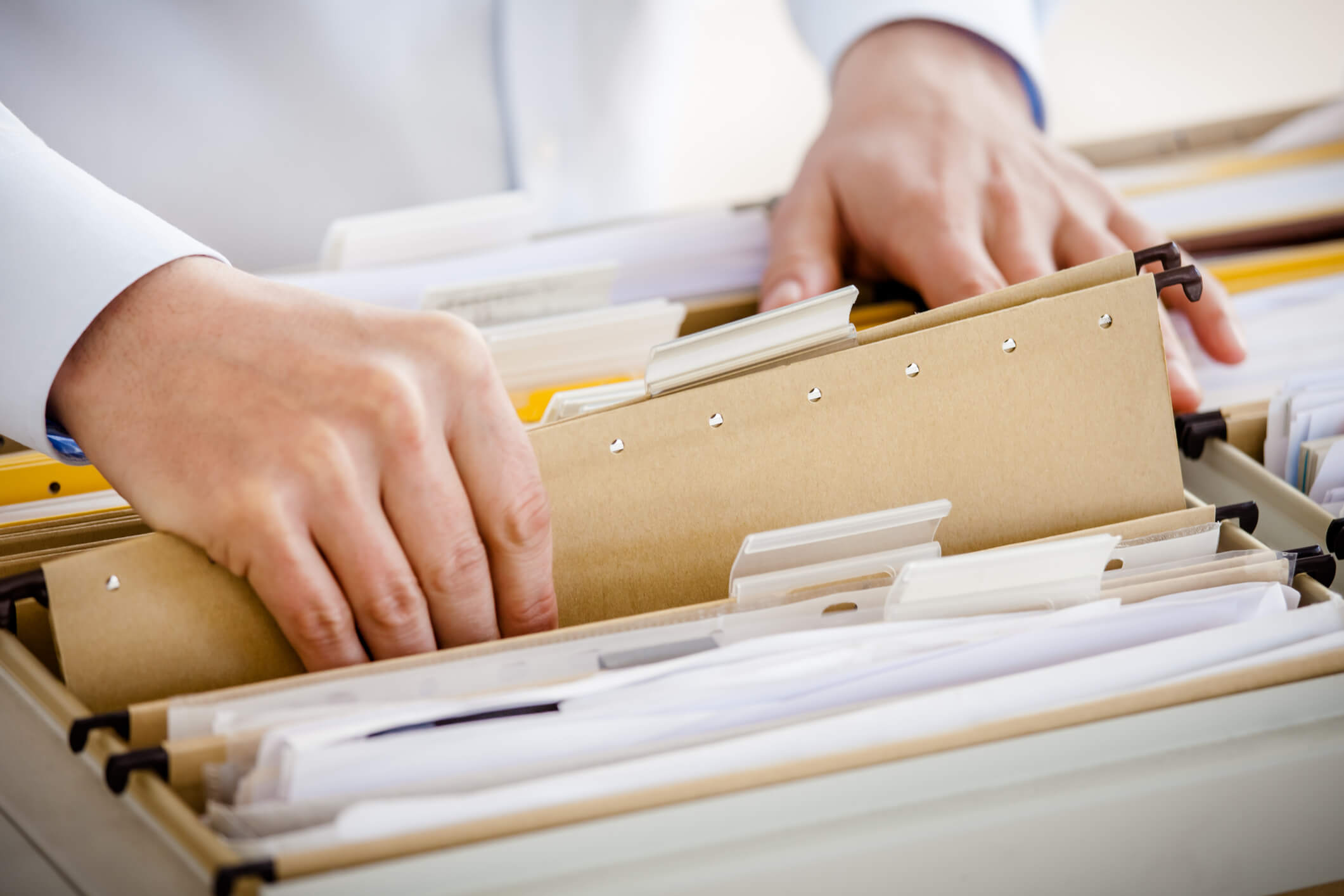 How to Prepare Your Paper Files for Electronic Document Management