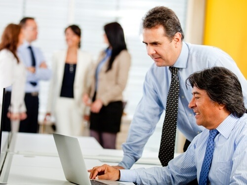 Outsourced IT professionals can support existing departments.