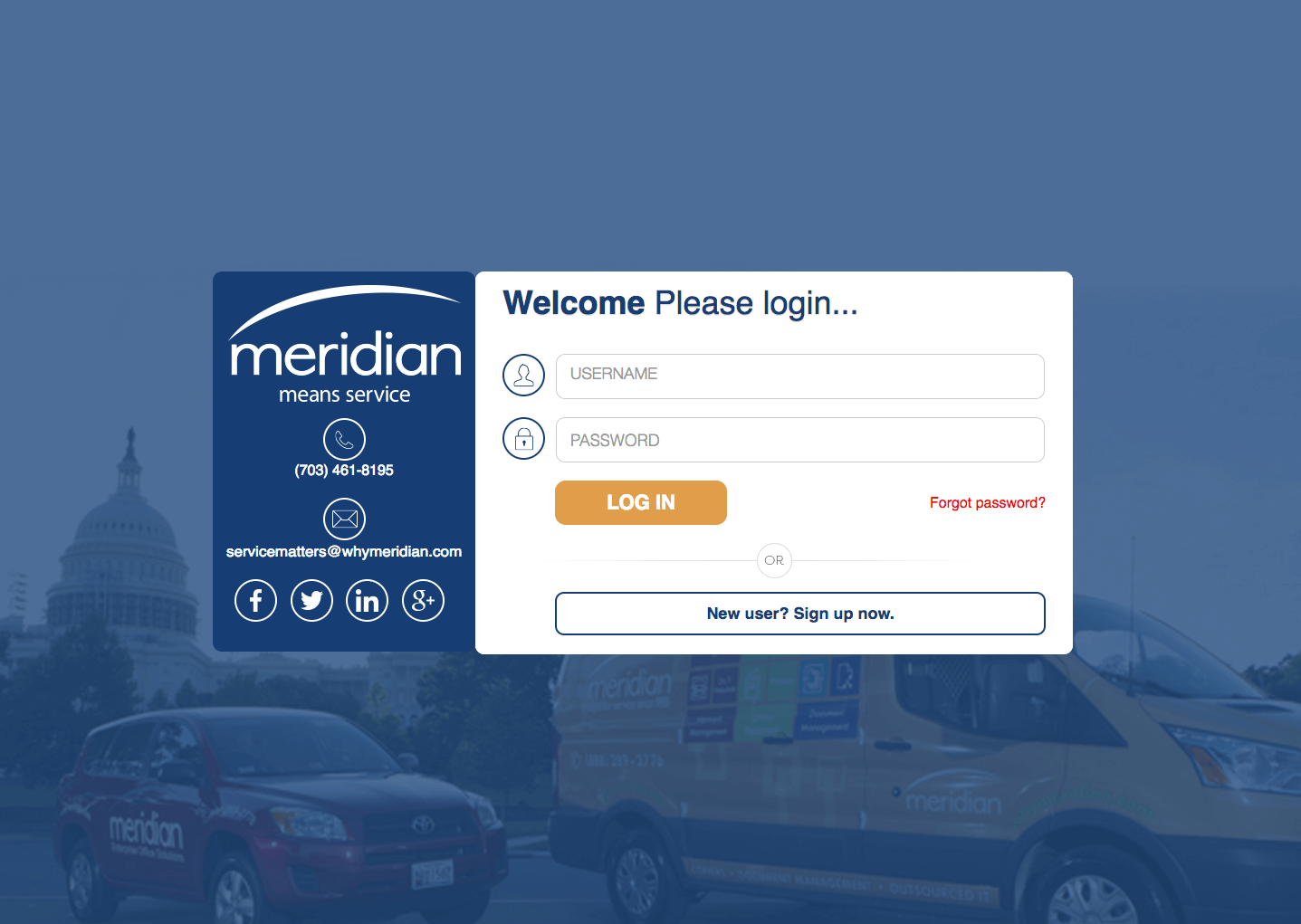 Customer Portal Redesigned to Enhance Your Meridian Experience