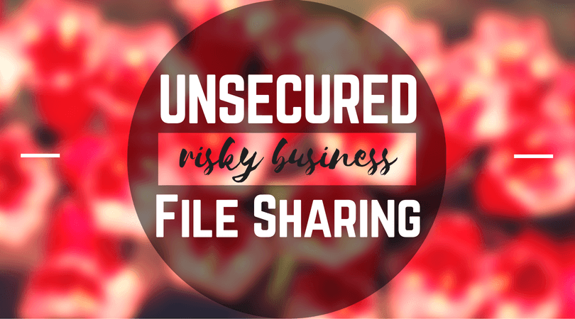Unsecured File Sharing is Risky Business